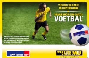 Voetbal promo